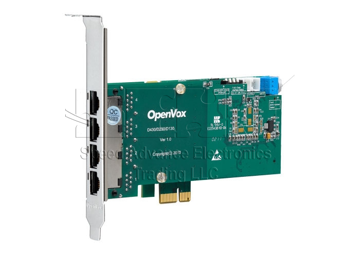 D430 Digital Card  - OpenVox D430 Digital Card