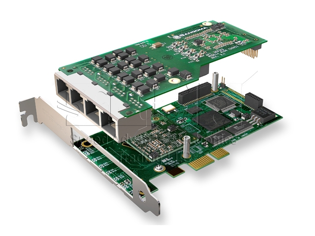 A104 Digital card - Sangoma A104/4E1 PCI-Express card boards