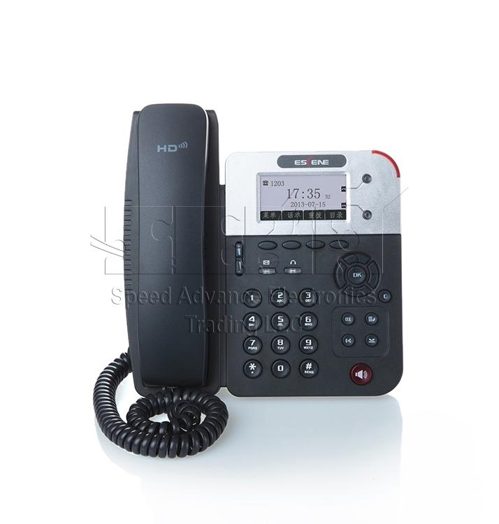 ES290-N IP Phone - Escene ES290-N Front view