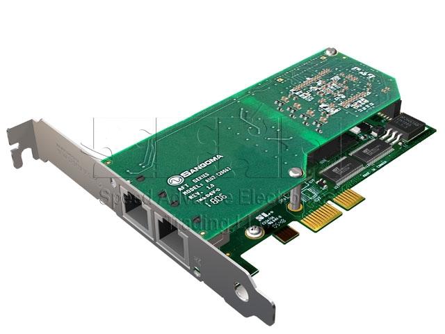 A102 Digital card - Sangoma A102/2E1 PCI-Express card