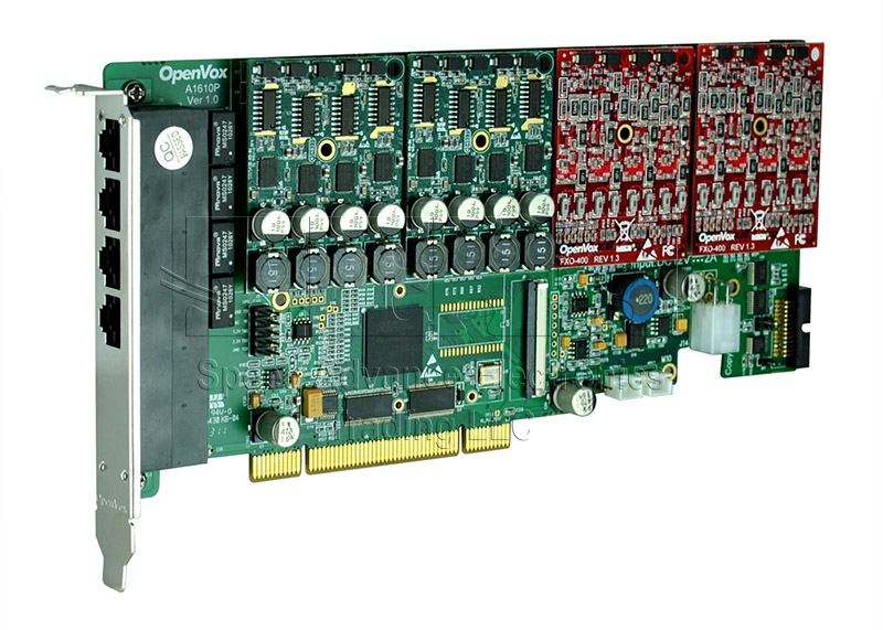 A1610 Anlog Card - Openvox 16 Ports Aanalog PCI Card
