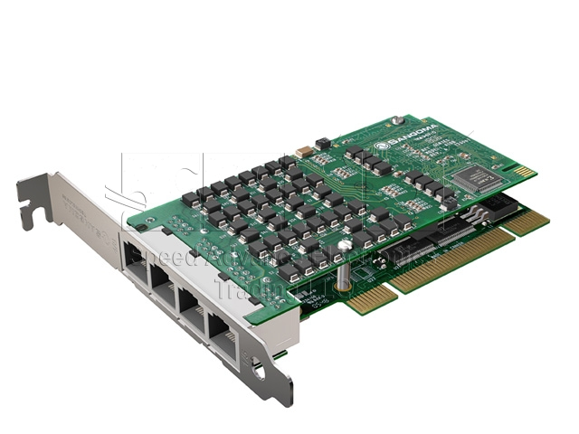 A108 Digital card - Sangoma A108/8E1 PCI card